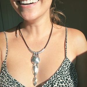 NWT Robert Lee Morris Silver Necklace